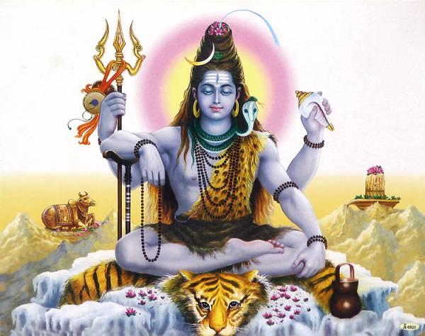 Шива — в индуизме олицетворение разрушительного начала вселенной и трансформации