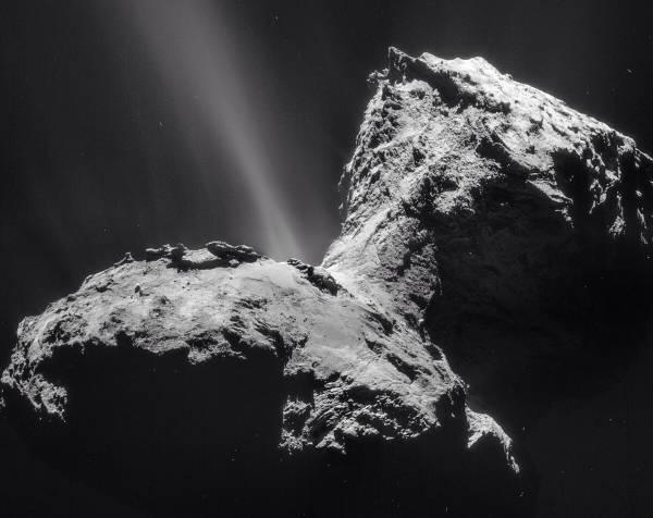 28 километров от центра кометы 67P/Чурюмов-Герасименко. 31 января 2015 года